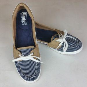 Keds Ortholite Glimmer Nautical Stripe Sneaker 8.5